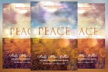 Peace Church Flyer