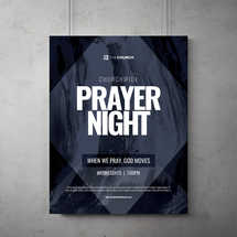 Prayer Night Flyer Template