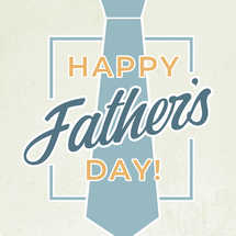 Father's Day Tie Social Graphic