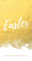 Gold Easter Sunday
