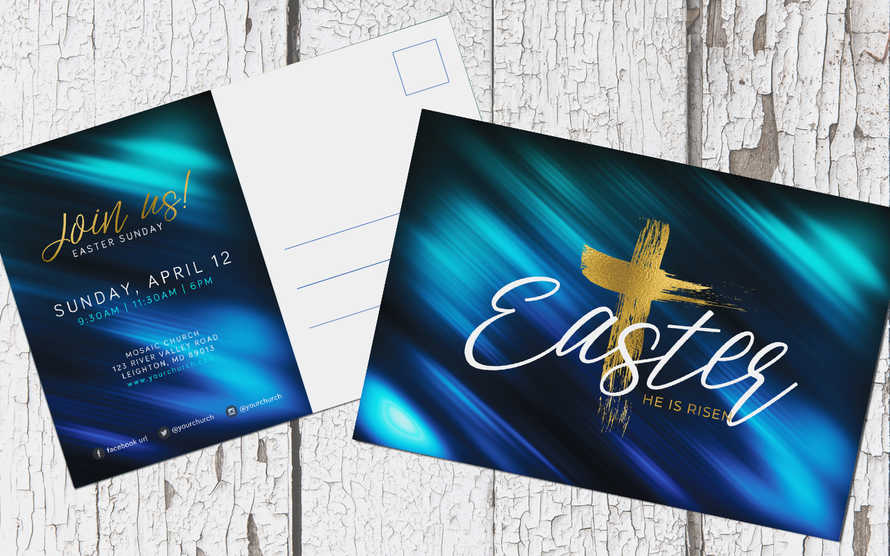 Easter Sunday Postcard