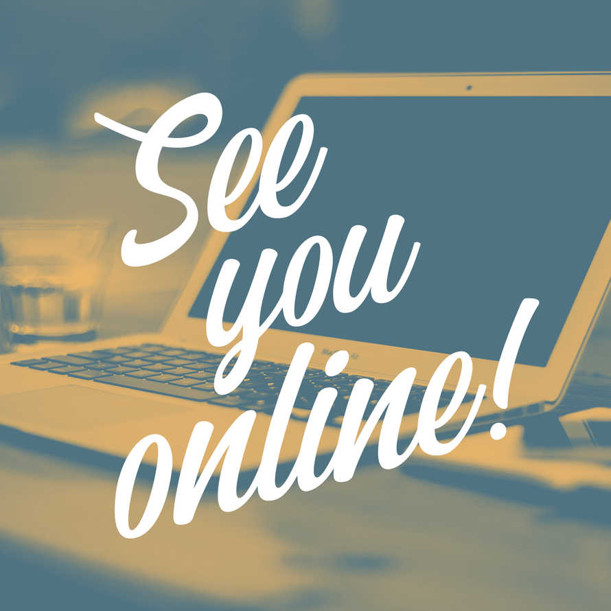 See You Online Social Graphic Set