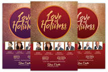 Love of Holiness Church Flyer