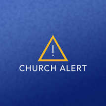 Church Alert Graphic