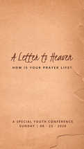 A Letter to Heaven