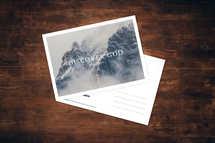 Discover God Postcard