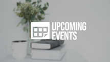 Upcoming Events Slide