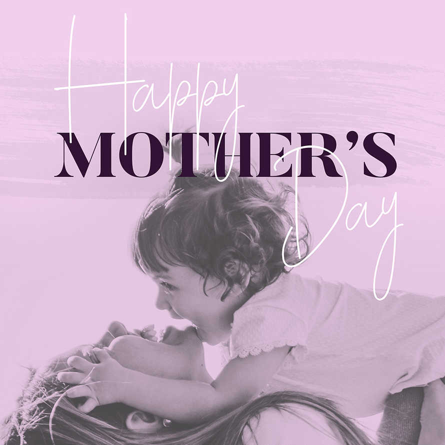 Mother's Day Pink social media posts