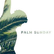 Palm Sunday Cutout