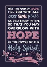 Romans 15 v 13