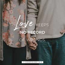 Love Keeps No Records.zip