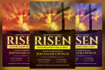 Risen Church Flyer