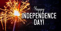 Independence Day / Fourth of July Sparkler