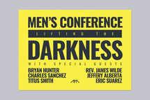 Men's Event Postcard