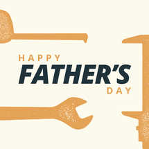 Father's Day Tools Social Graphics