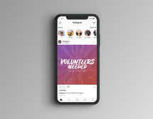 Volunteers Needed Social Graphics