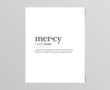 Mercy Definition Digital Print