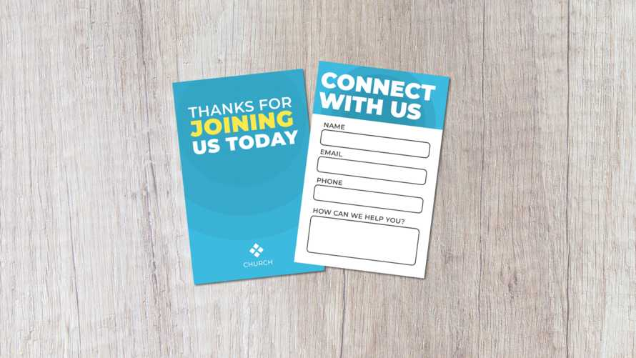 Church Connection Card