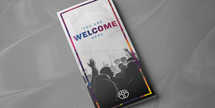 Welcome Worship 11x8.5 trifold