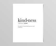Kindness Definition Digital Print