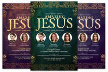 Amazing Jesus Church Flyer
