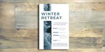 Winter Retreat Flyer
