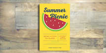 Summer Picnic Flyer