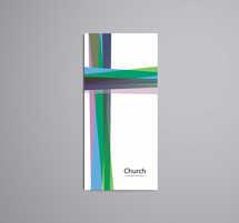 Welcome Modern Church Tri-fold