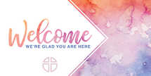 Welcome Watercolor slide set