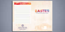 Easter New Life Watercolor Brochure Bifold