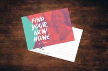New Home Postcard