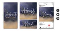 Advent Social Graphic Set