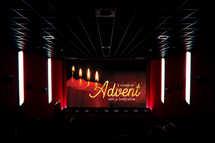 Advent Candle Slide Set