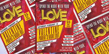 Valentine Parent's Night Out  Flyer