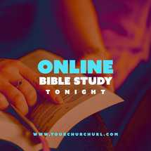 Online Bible Study Social graphic