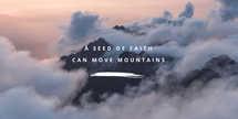 A seed of faith