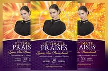 Ultimate Praises Church Flyer