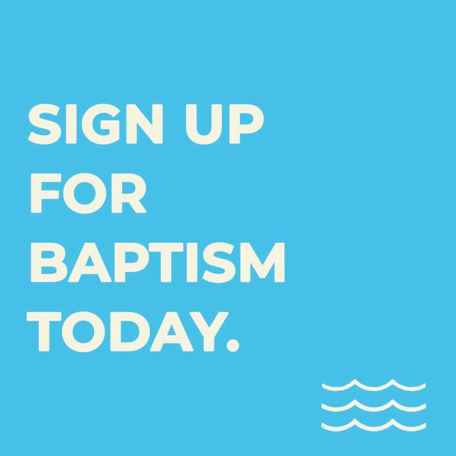 Baptism Sign Up