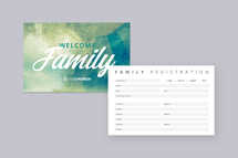 Family Registration Connection Card