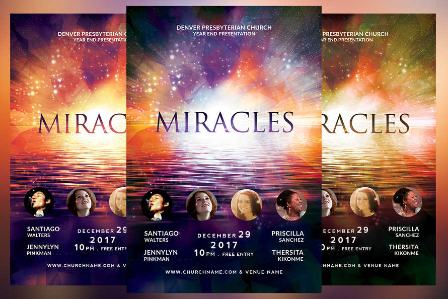 Miracles Church Flyer