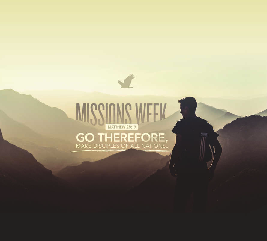 Missions Week Social Media Slides