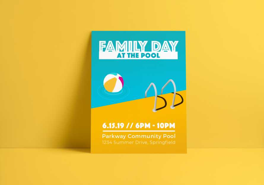 Family Pool Day - Summer Event