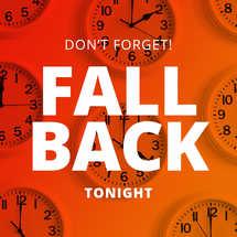 Fall Back Social Graphics
