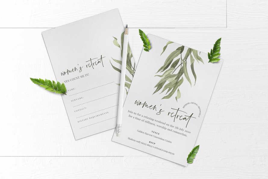 Women's Retreat Invite