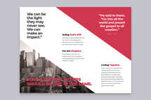 Impact Church Tri-Fold Brochure