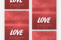 Love Flyer Template