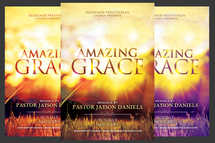 Amazing Grace Church Flyer