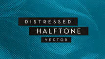 Distressed Halftone Texture Background