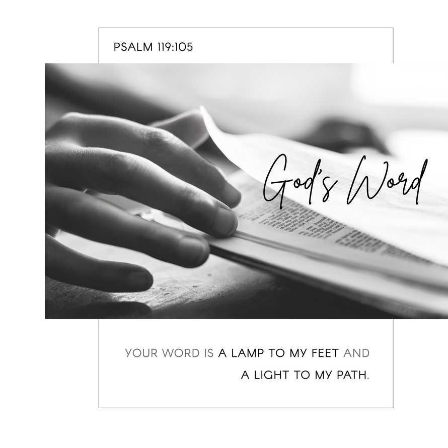 God's Word Social Graphic Set