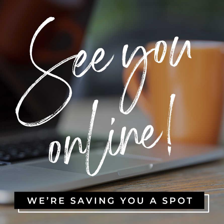 We're Saving You a Spot
